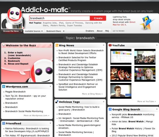 Addictomatic