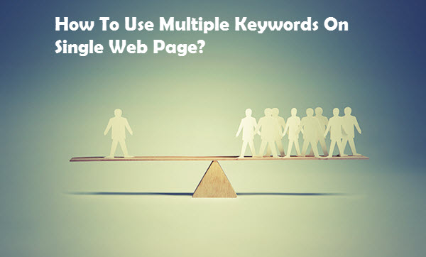 How to Use Multiple Keywords with One Page