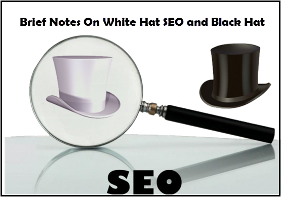 Brief Notes On White Hat SEO and Black Hat SEO 2