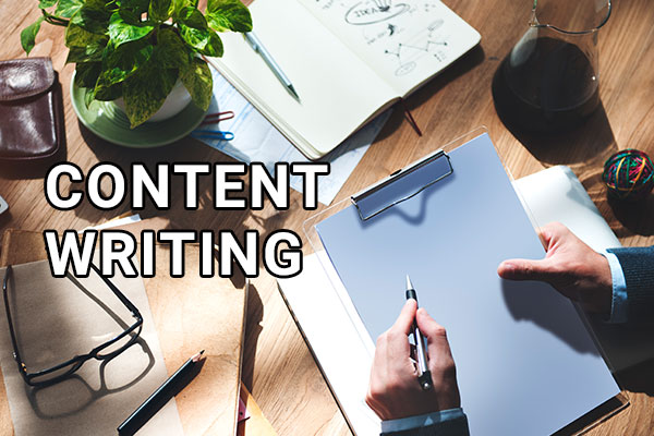 Professional content writing services in India