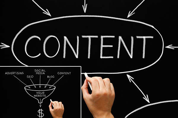 What is the main difference between content writing & SEO content writing