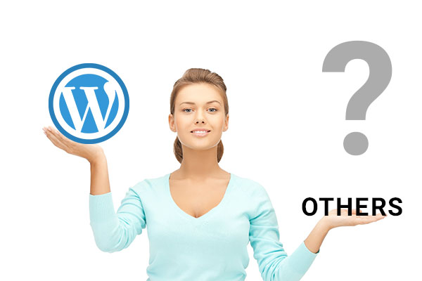 What is the key Difference between WordPress and other platforms