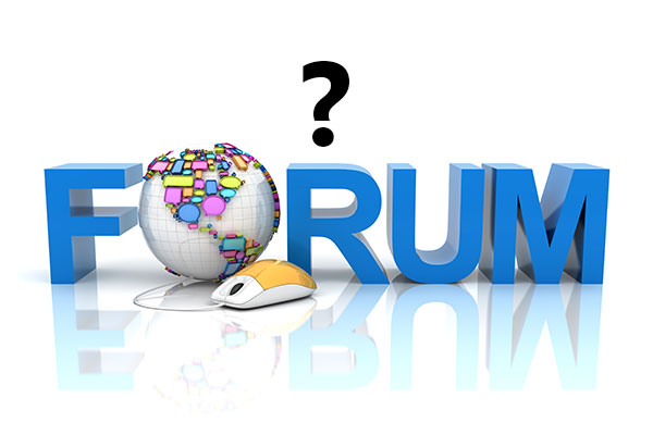 What are the most common uses of online forums